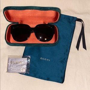 Gucci Oversized Square Sunglasses NEW